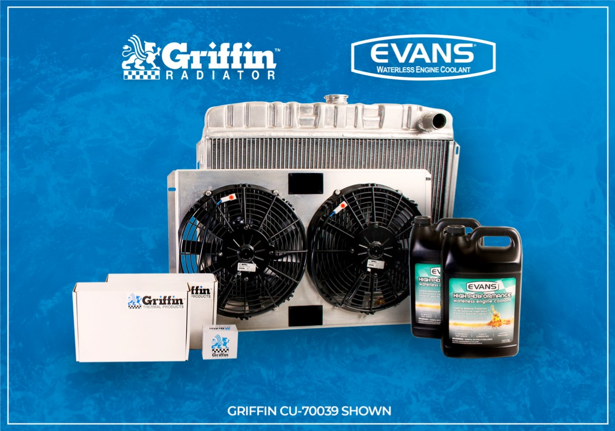 Evans Waterless Coolant Partners With Griffin Thermal Products