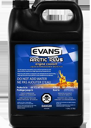 Evans Arctic Plus Engine Coolant | Evans Waterless Coolant