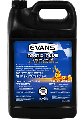 Evans Arctic Plus Engine Coolant