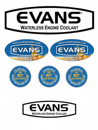 Evans High Performance Decals
